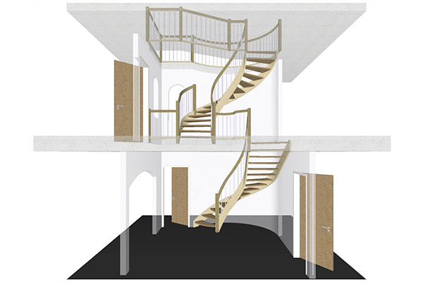 Stairs construction software