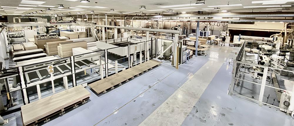 スマートファクトリー化れた工場
